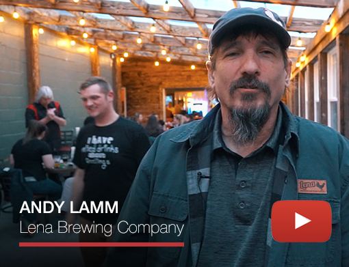 ANDY LAMM / Lena Brewing Company video